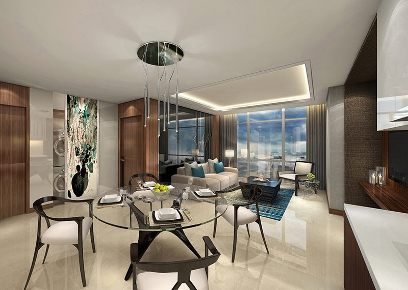 West-Gallery-Place-1br-classic-living-and-dining-area