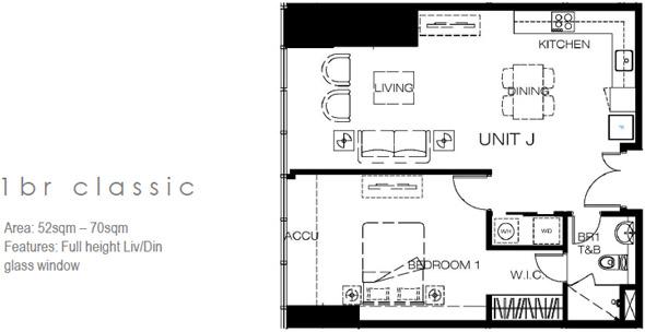 westgalleryplace 1 bedroom