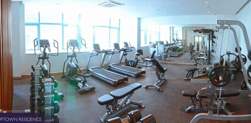 One Uptown Residence Gym 2