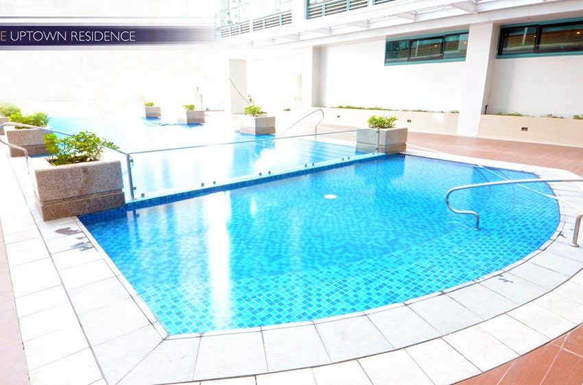 One Uptown Residence Pool